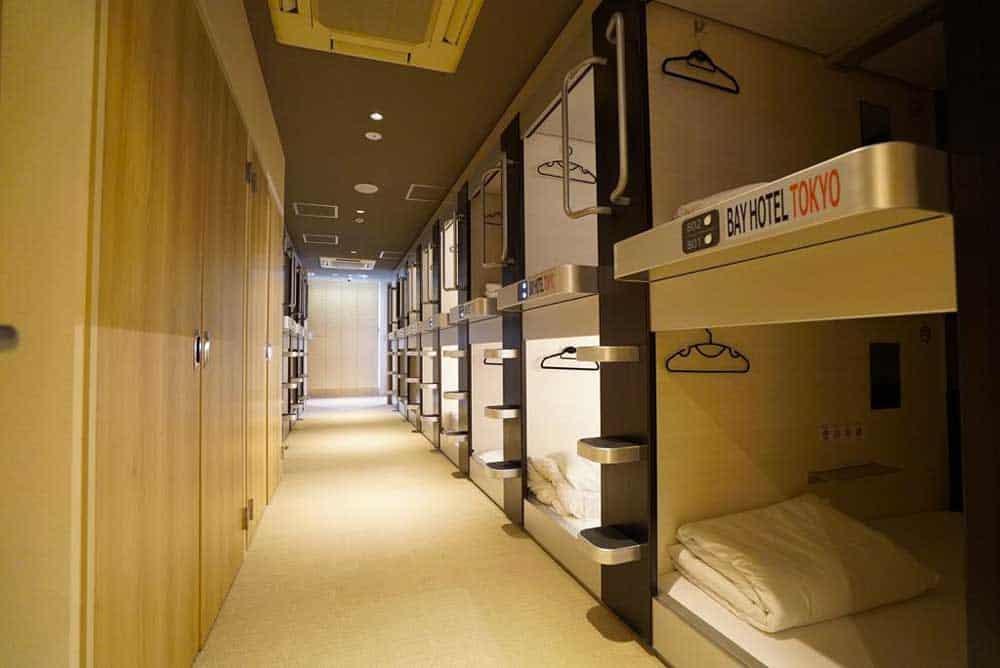 Capsules @ Tokyo Nihonbashi Bay Hotel in Tokyo, Japan