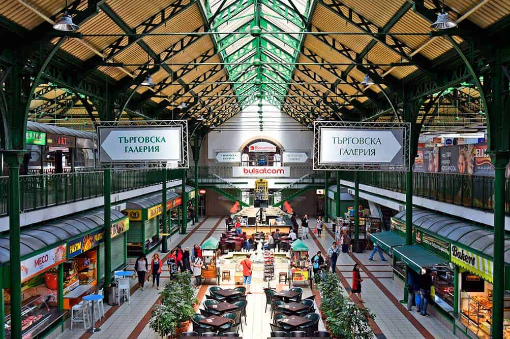 Central Market Hall in Sofia