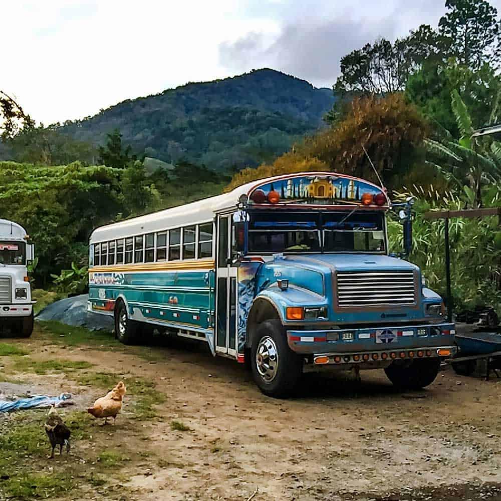 Chicken Bus Boquete