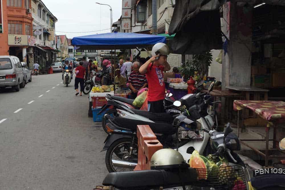 Chulia Street Hawker Stalls