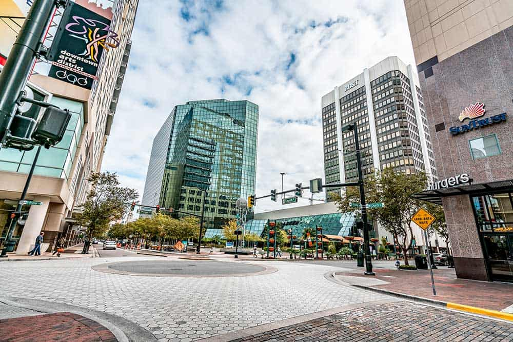 Church Street in Downtown