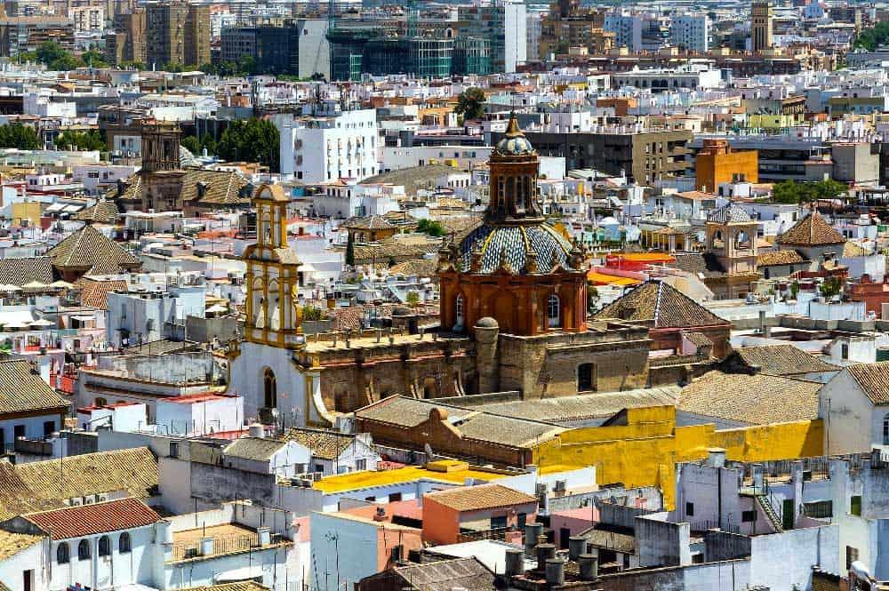 Cityscape Seville, Spain
