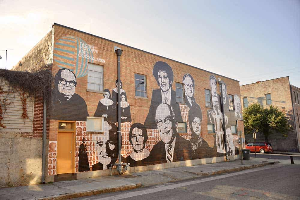 Civil Rights Mural in South Main Arts District