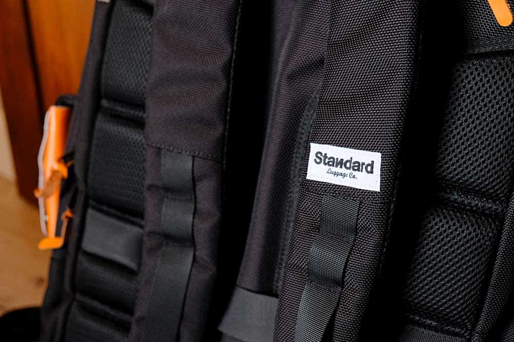 Close-Up of Standard's Carry-On Backpack