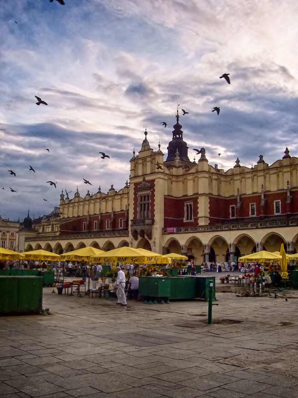 Cloth Hall in Market Square, Krakow