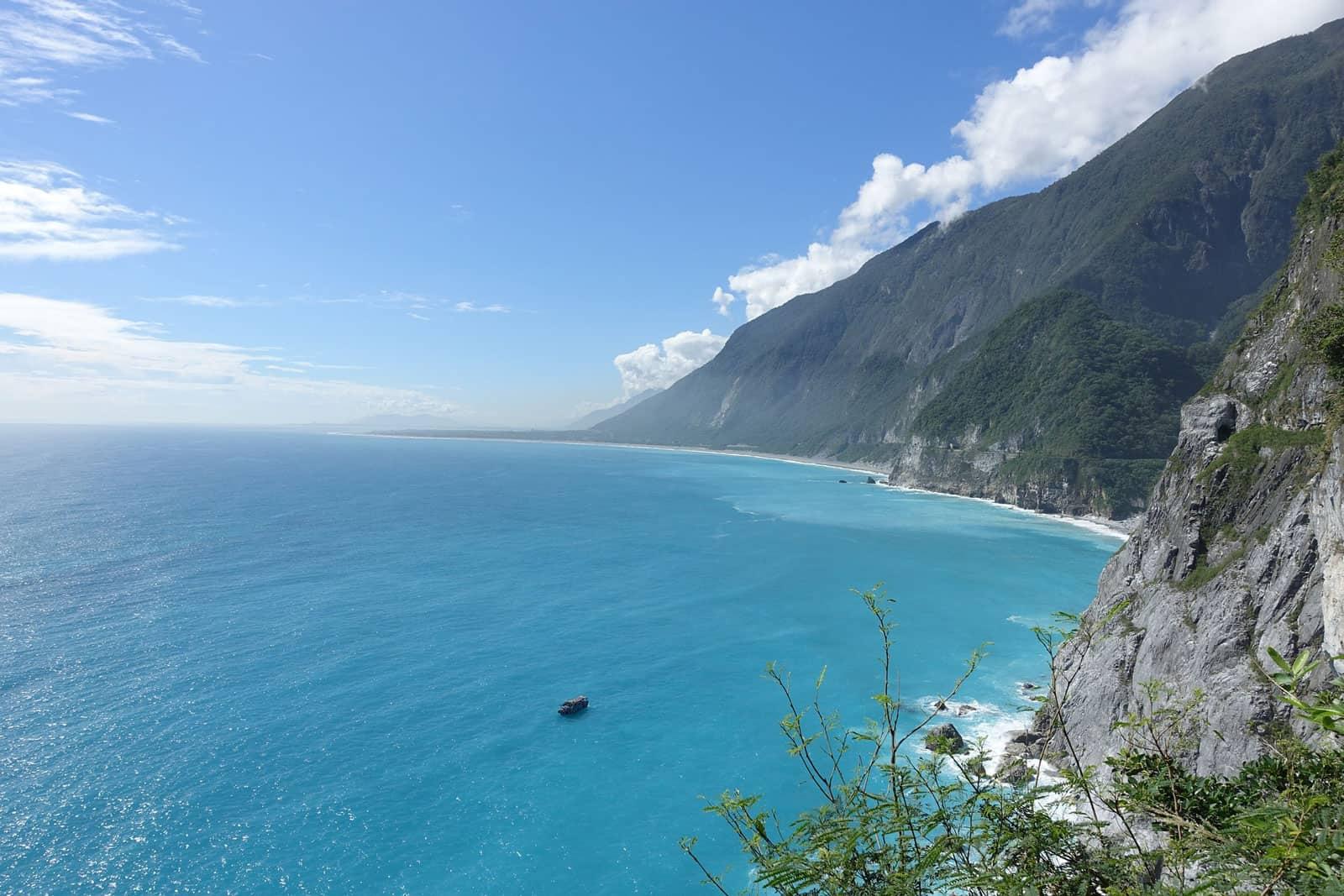 Coastline near Hualien, Taiwan