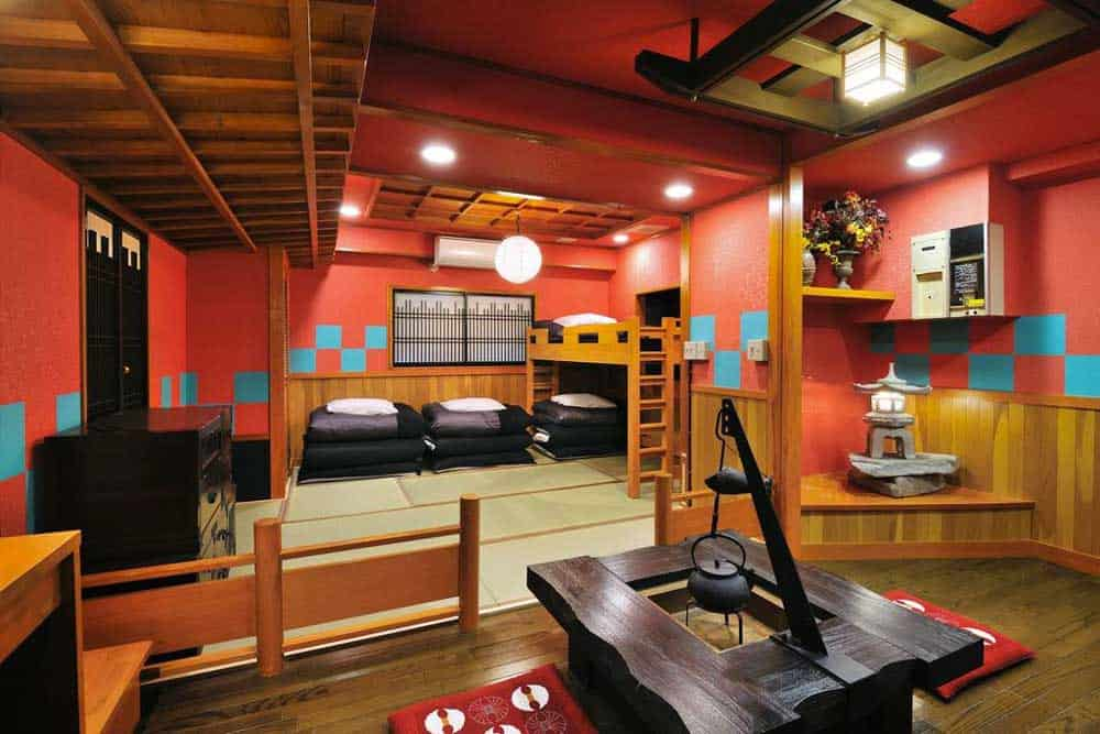 Deluxe Japanese room at Khaosan World Asakusaa Ryokan & Hostel