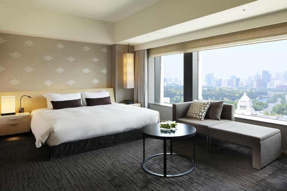 Deluxe King Room at The Capitol Hotel Tokyu