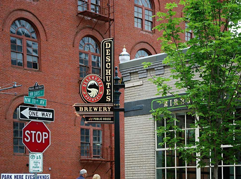 Deschutes Brewery in Pearl District
