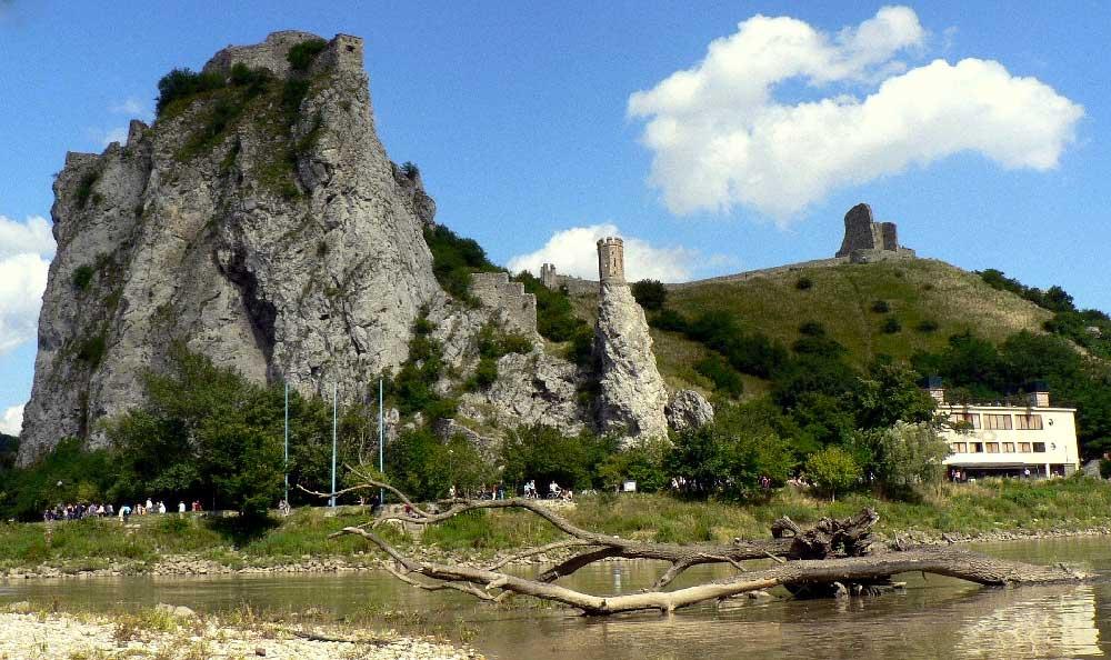 Devin Castle near Bratislava, Slovakia