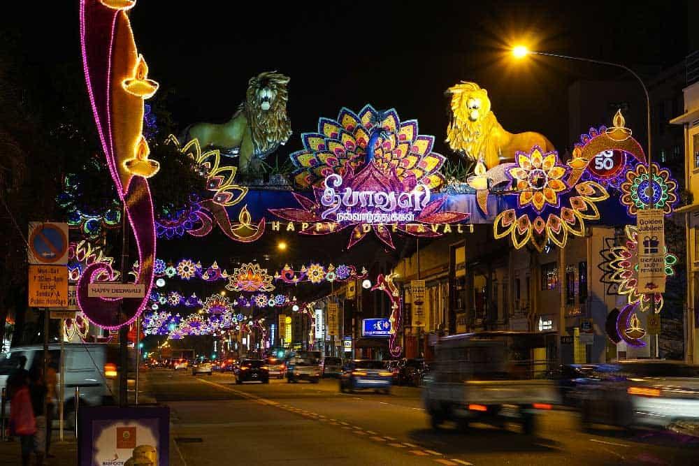 Diwali in Little India, Singapore