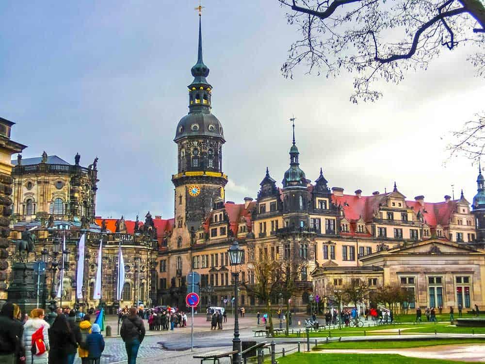 Dresden Castle Altstadt