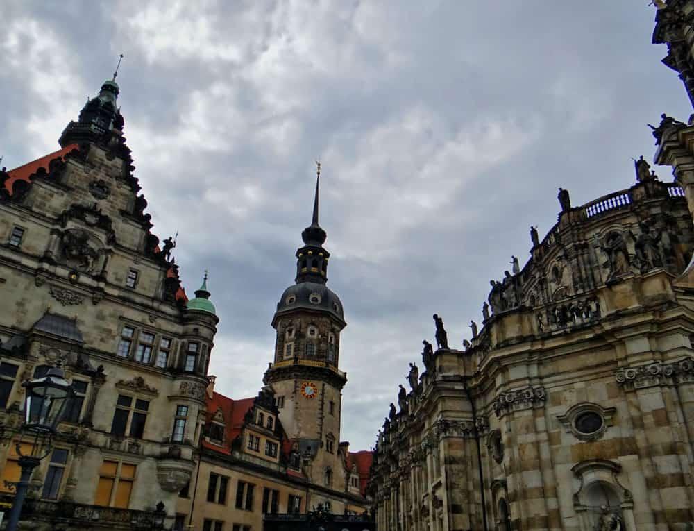 Hofkirche in Dresden Altstadt