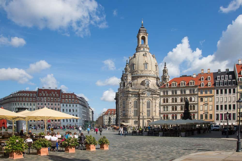 Dresden Neumarkt Frauenkirche