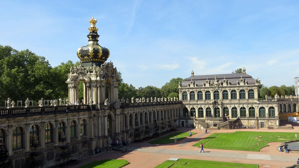 The Zwinger in Dresden, Germany