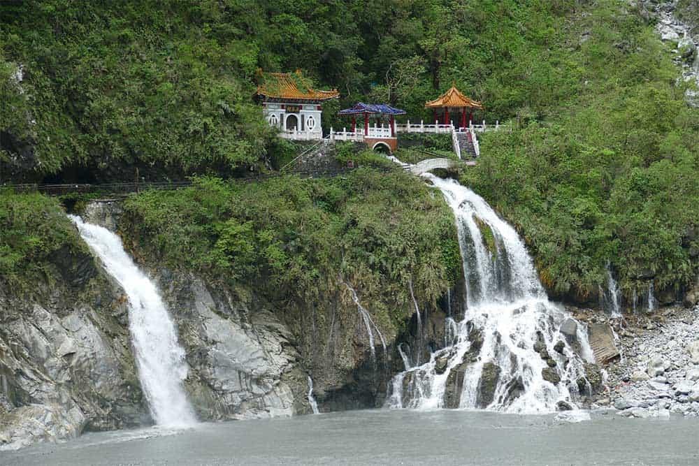 Eternal Spring Shrine in Taroko Gorge
