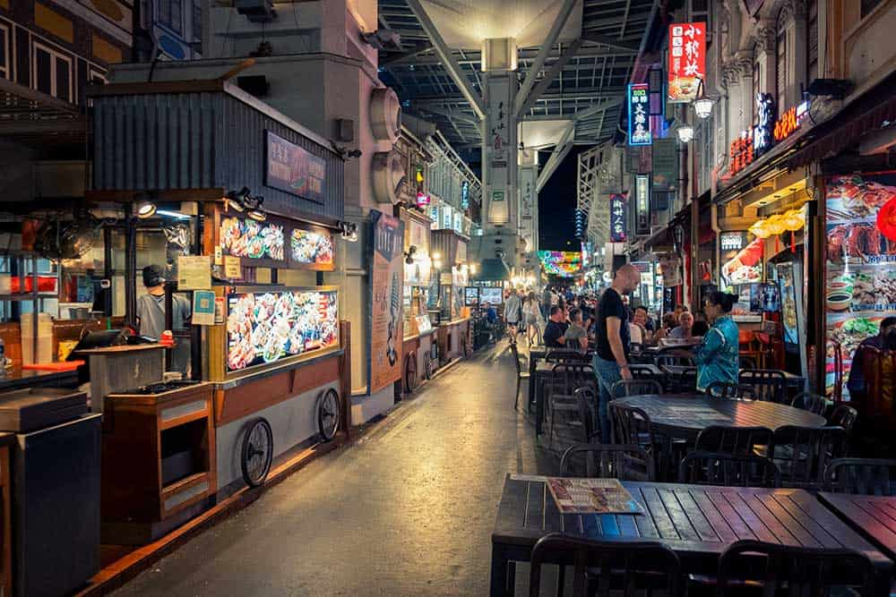 Evening @ Chinatown Food Street