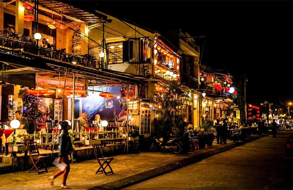 Evening in Hoi An, Vietnam