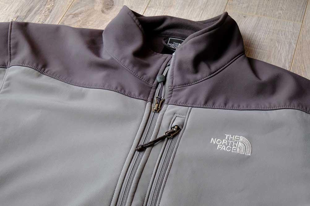 Face Fabric on Softshell Jacket