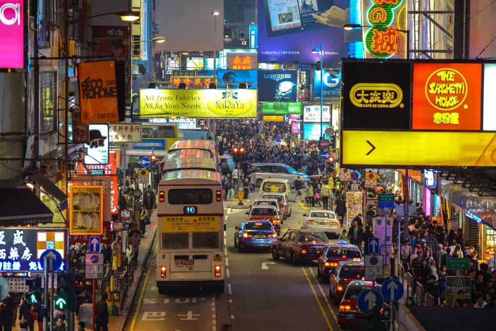 Fife Street in Mong Kok