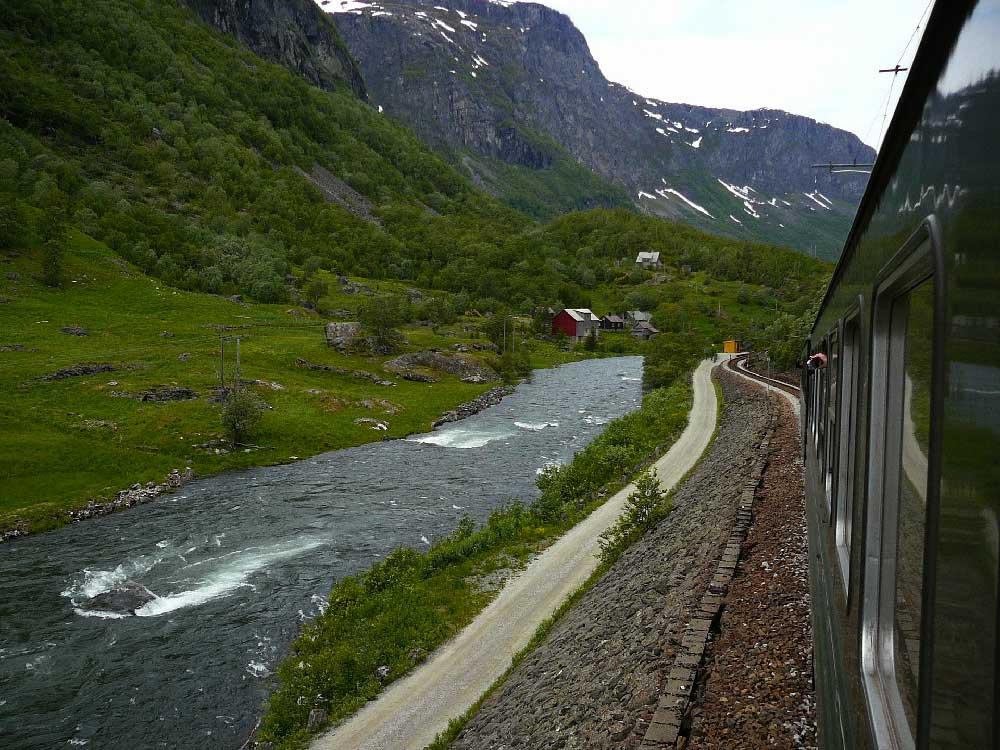 Flamsbana, Norway