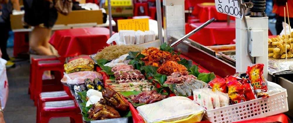 Food @ Namdaemun Market in Seoul, Korea