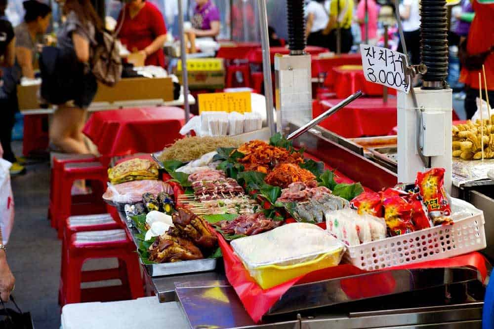 Food @ Namdaemun Market in Seoul, Korea