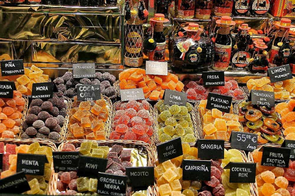 Fruit at La Boqueria in Barcelona