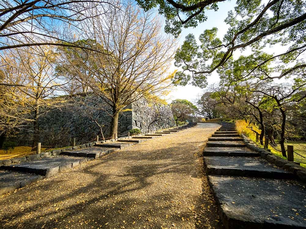 Fukuoka Castle Ruins Maizuru Park