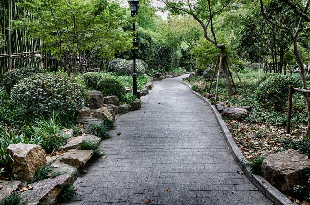 Fuxing Park in French Concession, Shanghai, China