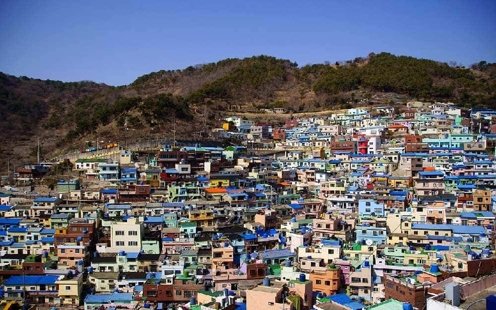 Gamcheon Culture Village in Busan, Korea