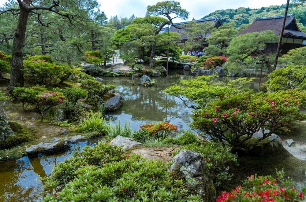 Garden @ Ginkaku-ji in Kyoto, Japan