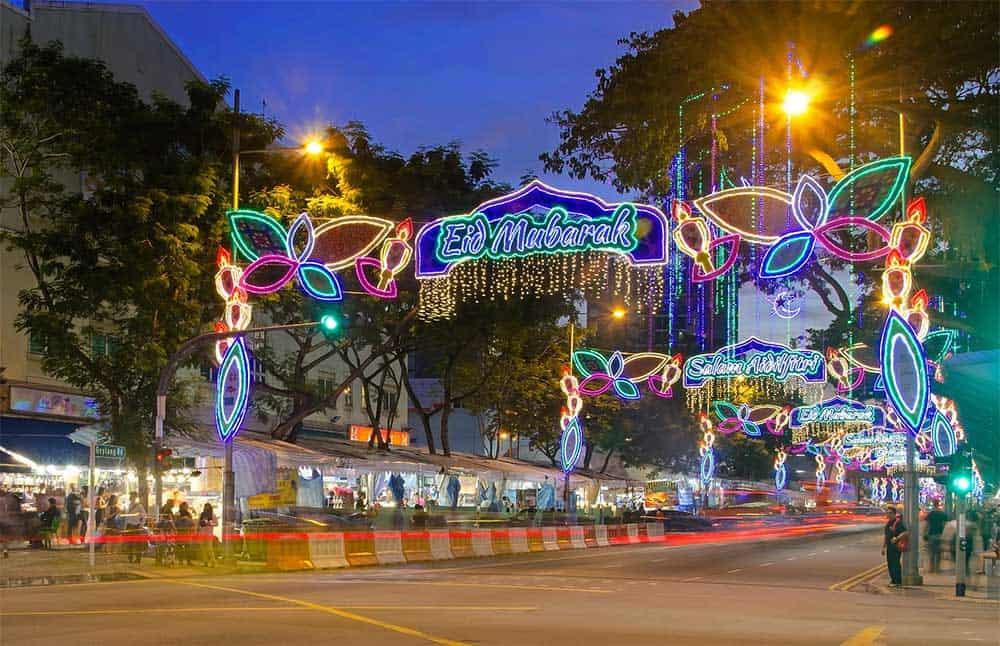 Geylang Road in Singapore