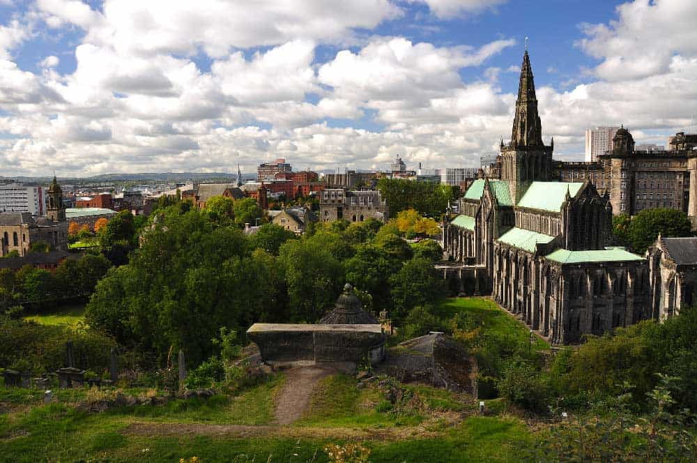 Glasgow Cathedral & Skyline