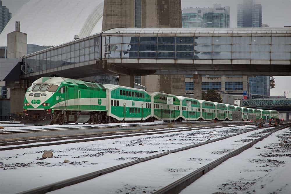 Go Train @ Union Station in Toronto