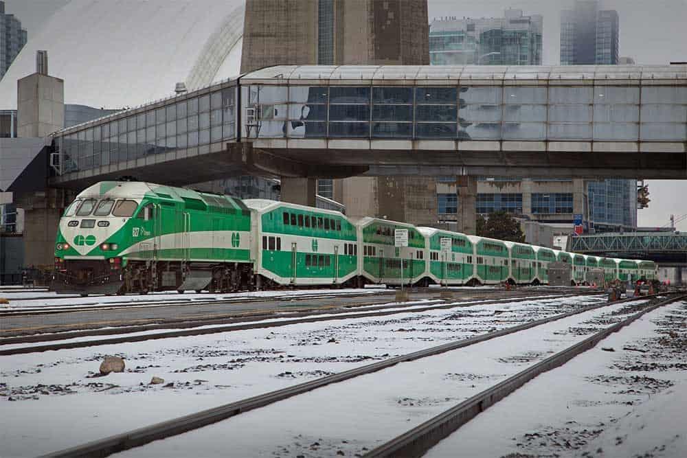 Go Train @ Union Station in Toronto
