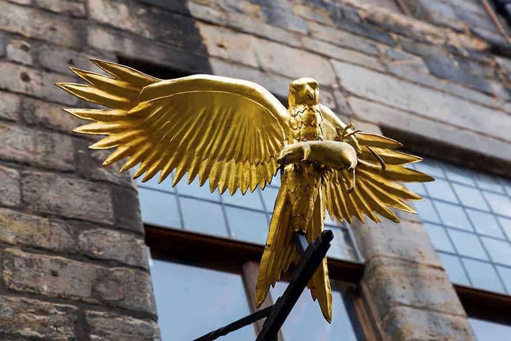 Golden Hawk at Gladstone's Land