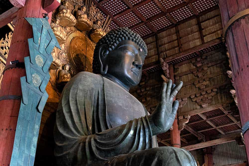 Great Buddha at Todaiji Temple