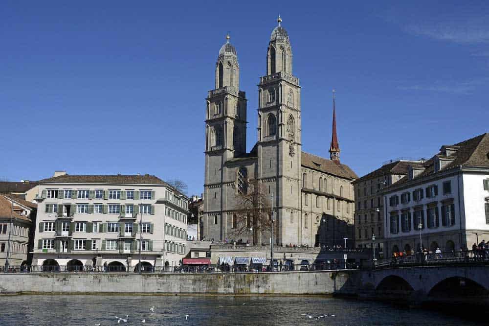 Grossmünster Church Tower