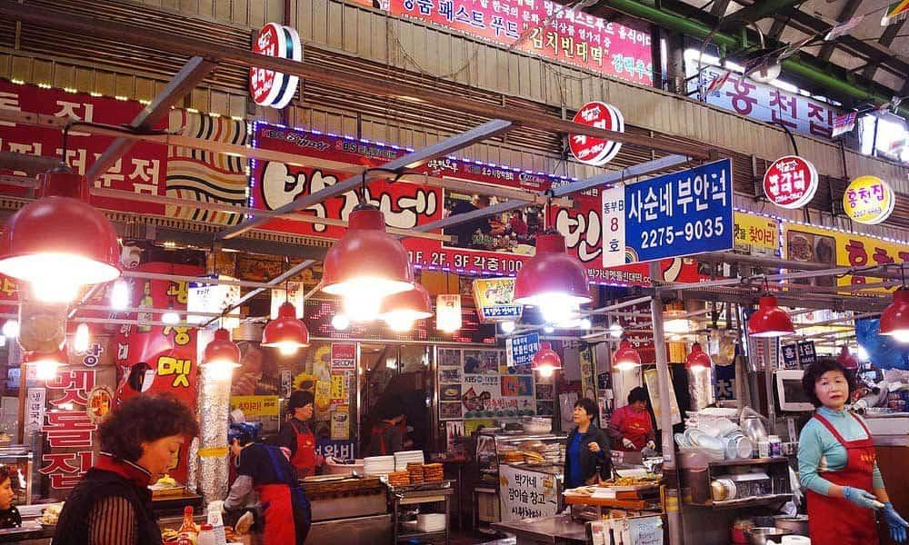 Gwangjang Market (Seoul, South Korea)