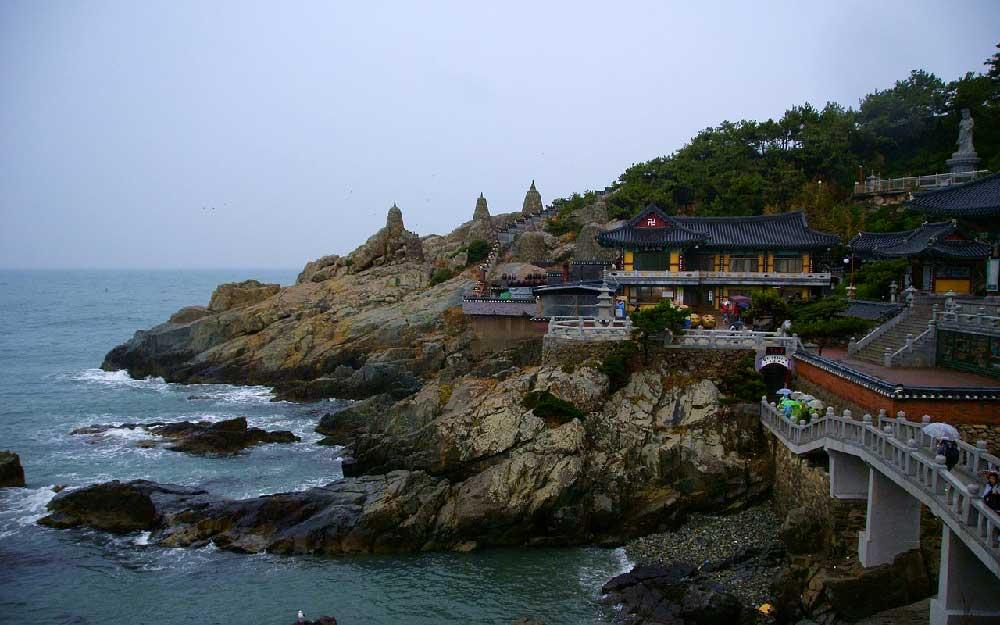 Haedong Yonggungsa Temple in Busan, Korea