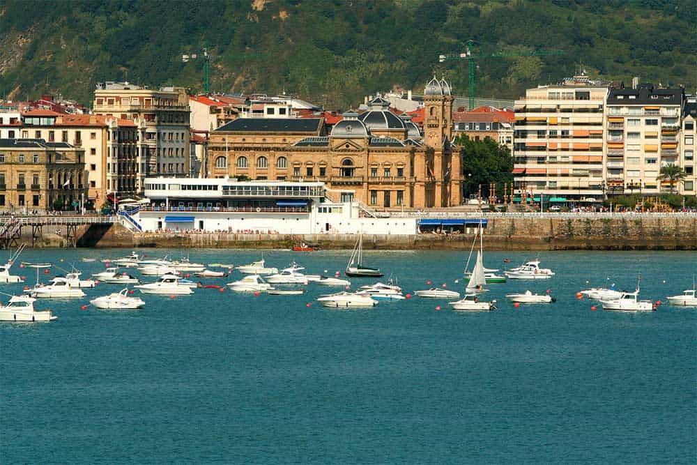 Harbour in San Sebastian (Donostia), Spain
