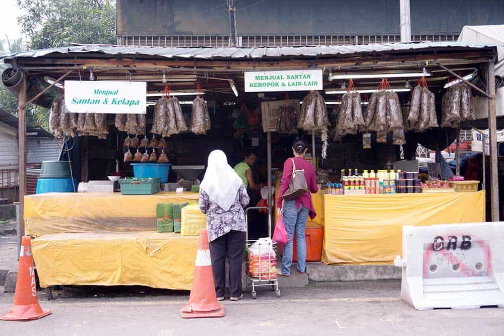 Hawker Stall in Kampung Baru