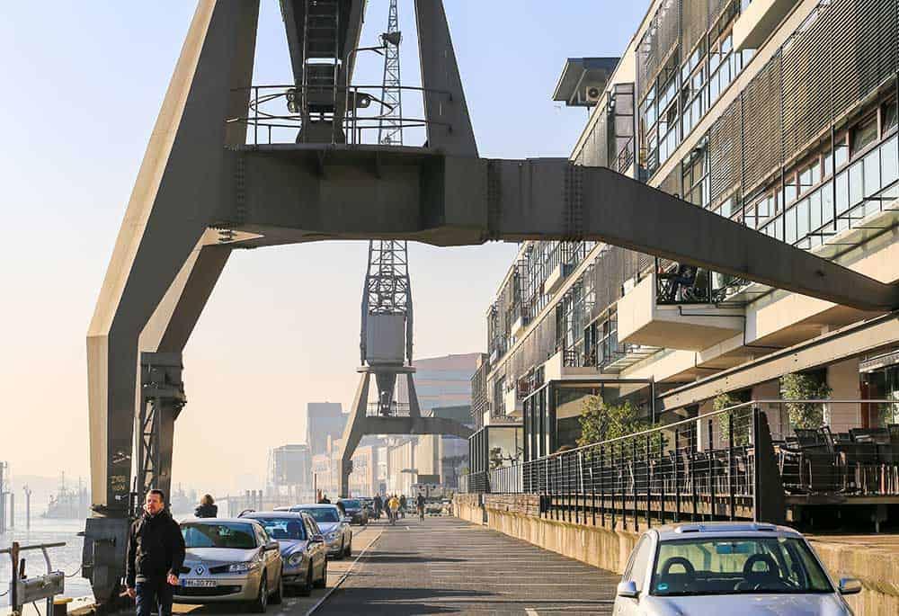 Historic Cranes in Altona, Hamburg