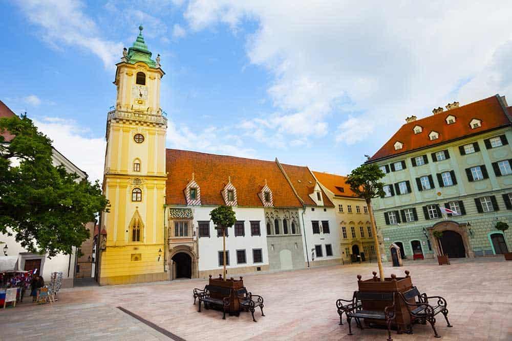 Hlavne Namestie in Stare Mesto (Old Town)