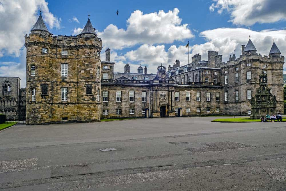 Holyrood Palace in Old Town