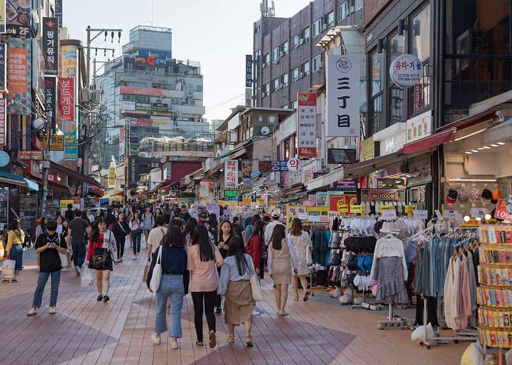 Hongdae Shopping Street