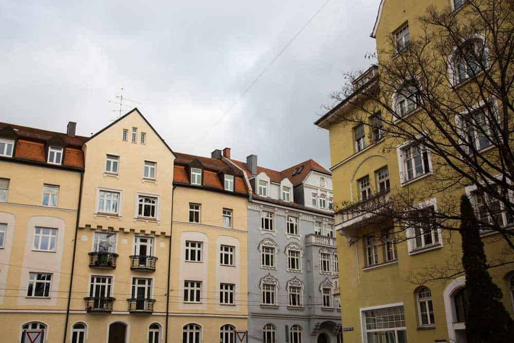 Houses in Schwabing
