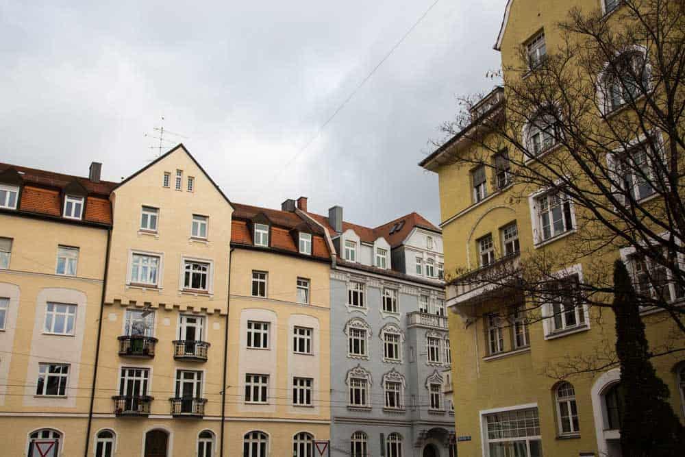 Houses in Schwabing