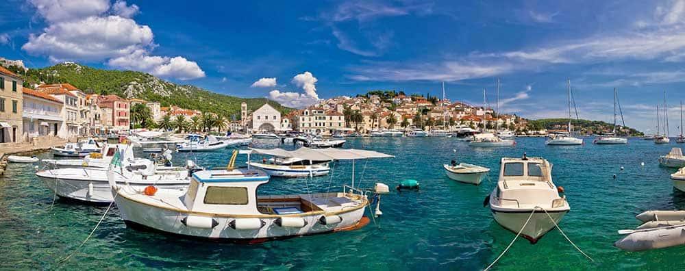 Hvar Town Harbour